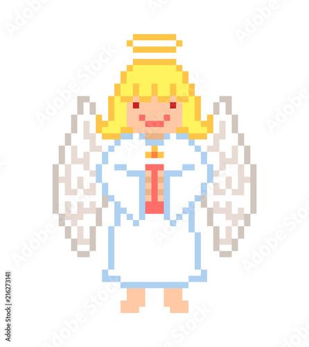 Pixel Art Angel Halo