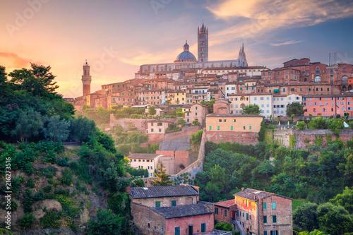 Vászonkép Siena