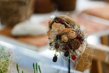 Seashell Wedding Bouquet