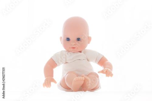 Photo bébé poupon jouet enfant parent papa maman clone nouveau né