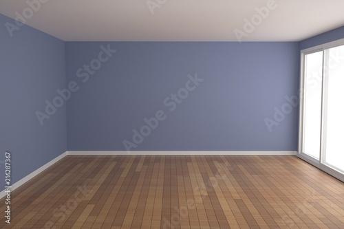 Fotografía  Empty room interior 3d rendering
