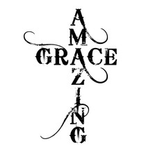 Amazing Grace Cross - Text In ...