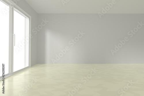 Fototapety, obrazy: Empty room interior 3d rendering