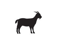 Goat Logo Template Vector Icon