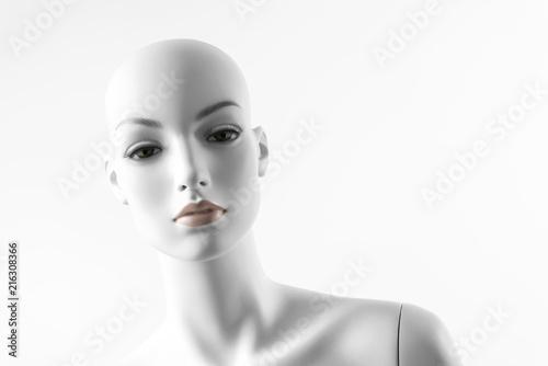 White Female Mannequin Canvas Print