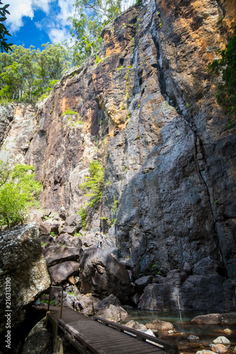 Foto op Aluminium Oceanië Purling Brook Falls
