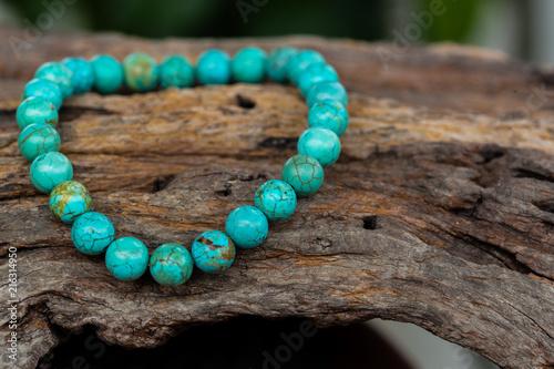 Stampa su Tela The Turquoise stone bracelet