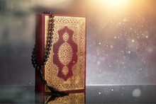 Islamic Book Koran With Rosary...