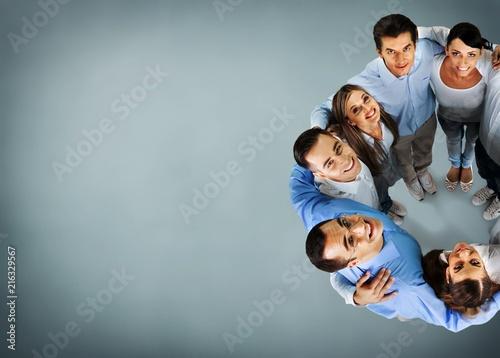 Staande foto Hoogte schaal Team.