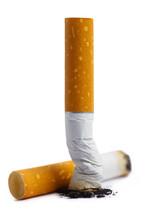 Close-up Of Extinguished Cigar...