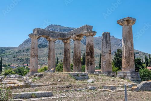Fényképezés Cité antique de Corinthe