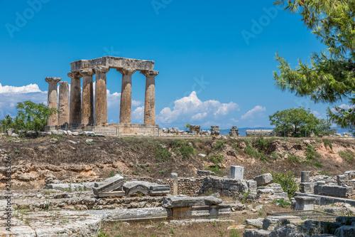 Fotografia, Obraz Cité antique de Corinthe