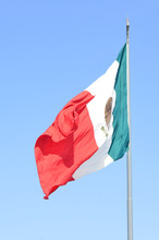 National Flag Of Mexico Blowin...