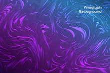Abstract Anaglyph Background