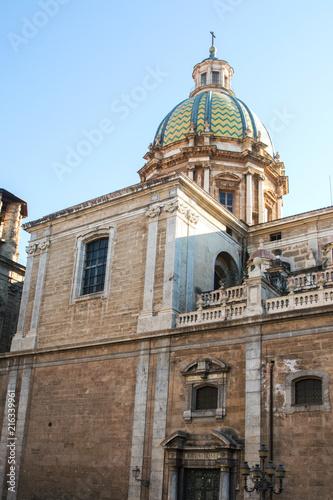 Deurstickers Palermo Chiesa barocca di San Giuseppe dei Teatini / Palermo / Sicilia / Italia