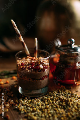 Photo Stands Coffee beans Desserts