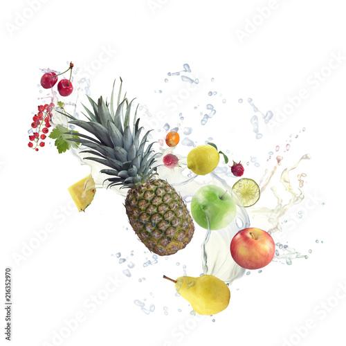 zdrowe-owoce-z-pluskiem-wody