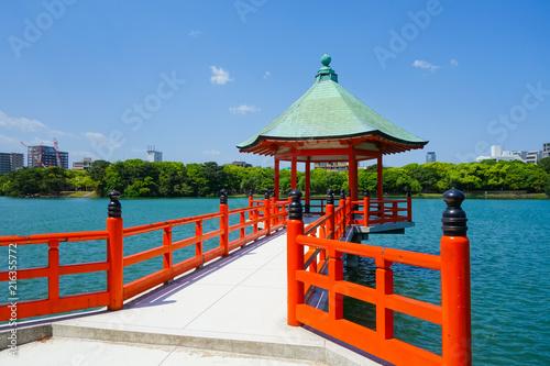 Obraz na płótnie 福岡大濠公園 浮見堂