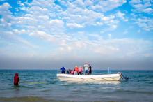 Group Of Fishermen Trying To D...