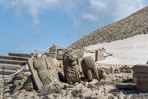Fotomural West Terrace on top of Nemrut Mountain.Turkey