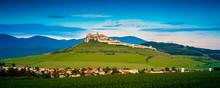 Ruin Of Spissky Castle In Slov...