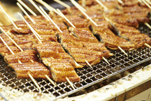 Grilled Eel With Sauce