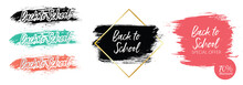Back To School Banner For Social Media Template Or Sale Offer