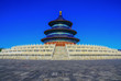 Leinwanddruck Bild - Beijing, China - built in the 15th Century, the Temple of Heaven stands in central Beijing, and it's one the 53 Unesco World Heritage Sites of China