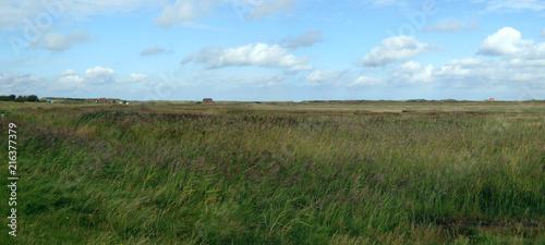 Spoed Foto op Canvas Noordzee plattes Land