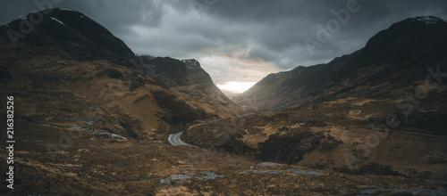 Photo  Scotland glencoe landscape