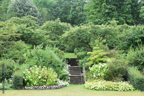 Jardin Anglais A Valloires France Buy This Stock Photo And