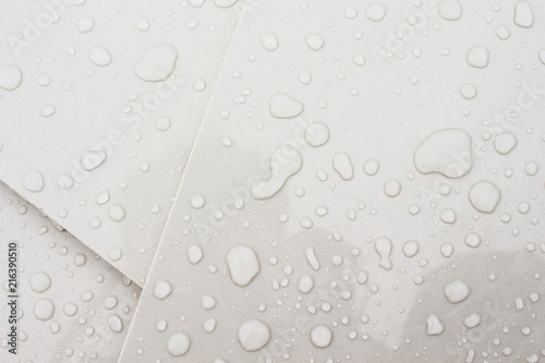 Fotografie, Tablou  water droplets texture background
