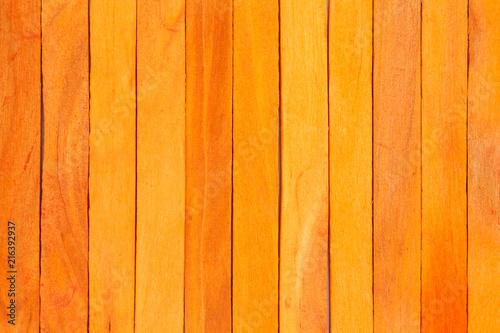 orange wood fence plank texture background