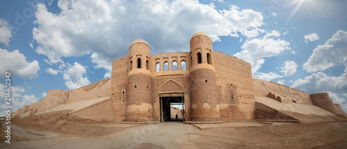 Photo Uzbekistan Khiva fortress wall