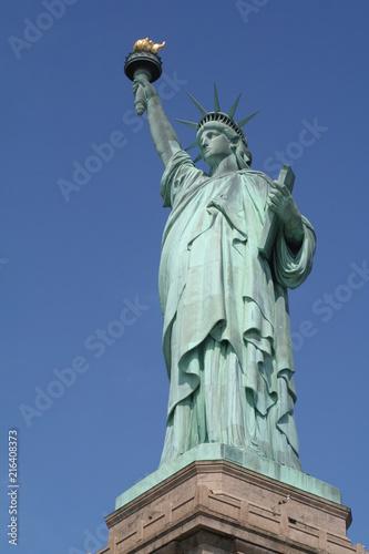 Fotografie, Obraz  Statue of Liberty - Blue Sky Background