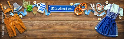 Papiers peints Echelle de hauteur Rustic background for Oktoberfest