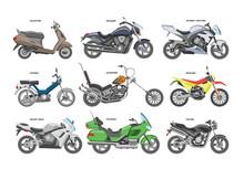 Motorcycle Vector Motorbike Or...