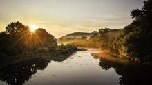 Sunrise Over River Chassezac I...