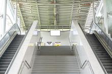 Escalator Stairways To Undergr...