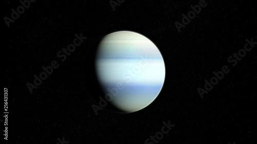 Planète Uranus Wallpaper Mural