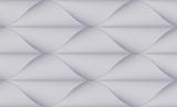 Geometryczny bezszwowy wzór, abstrakcjonistyczny tafluje tło, wektorowej powtórki niekończący się tapetowa ilustracja. Kwiatowe liście lub rybi squama kształtują modny motyw. Jeden kolor, czarno-biały. - 216432515