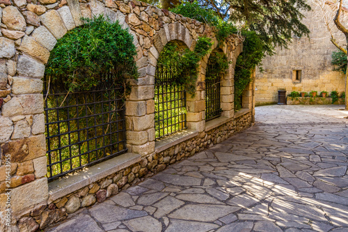 Fototapety, obrazy: Pals, an medieval town in Catalonia, Spain