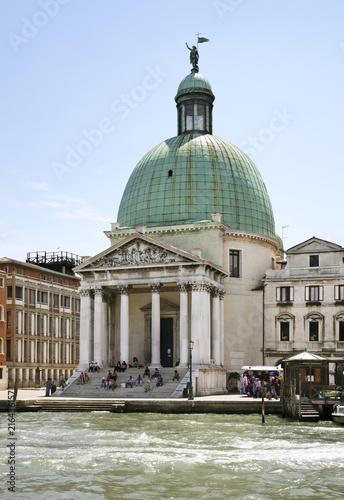 Fotografie, Obraz  San Simeon Piccolo church in Venice. Region Veneto. Italy