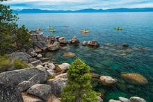 Sand Harbor Beach Lake Tahoe N...