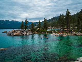 Sand Harbor Beach Lake Tahoe Nevada State Park