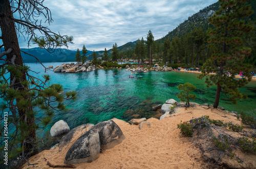 Sand Harbor Beach Lake Tahoe Nevada State Park Fototapeta