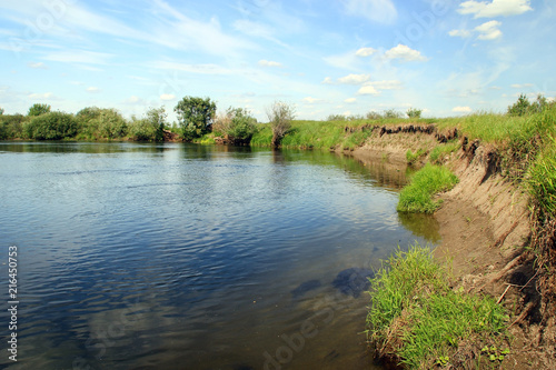 Foto op Plexiglas Rivier Bank of the river