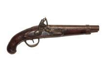 Flintlock Pistol Used In War Of 1812