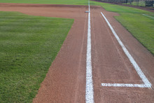 Baseball Infield 1st Base Line