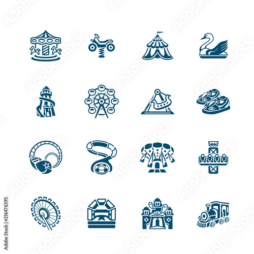 Foto  Attraction icons | MICRO series